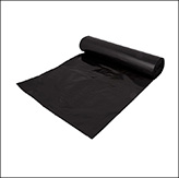 Heavy duty black plastic sack
