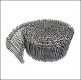 Compactor bag wire ties